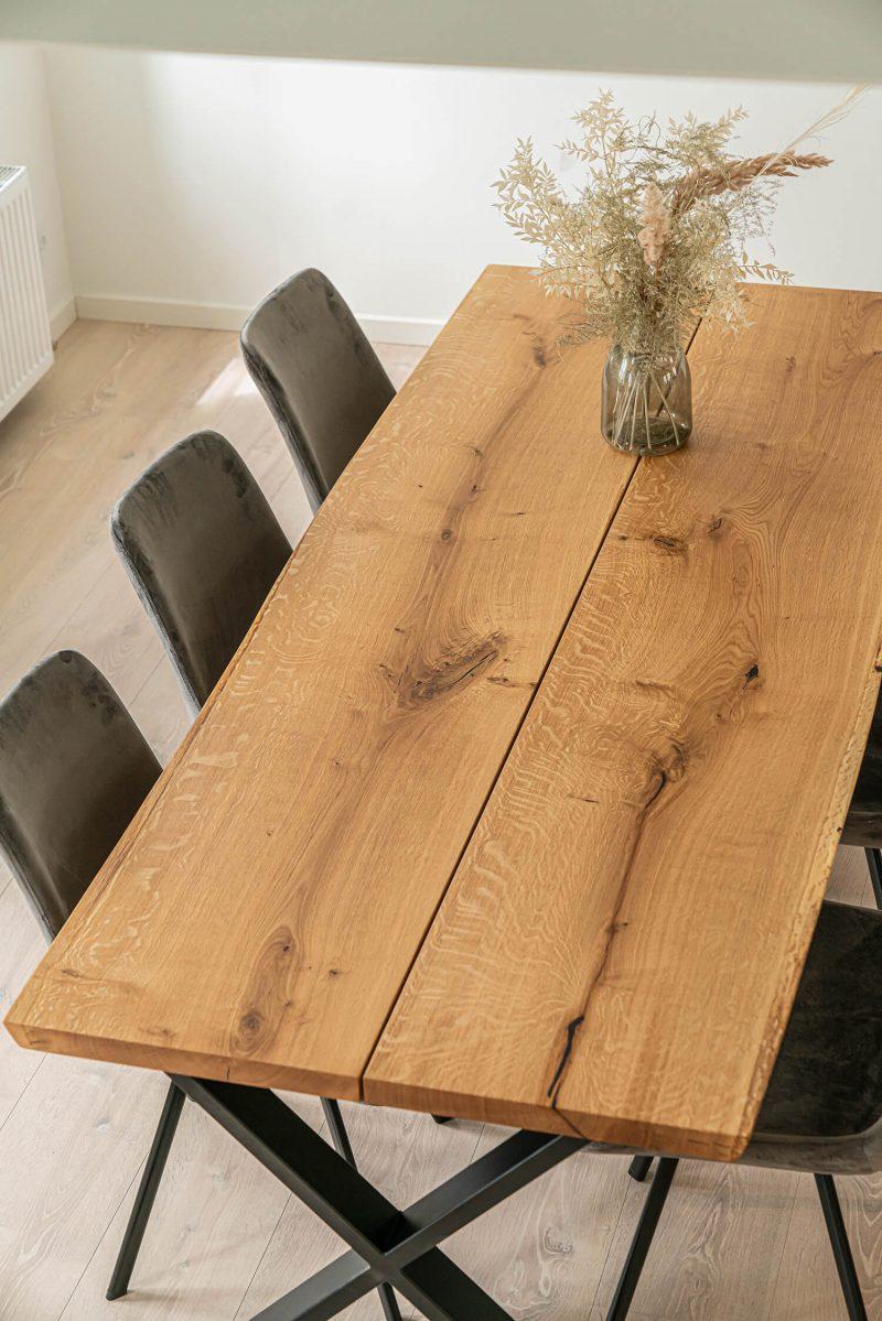 Ravna rustik plankebord i natur eg