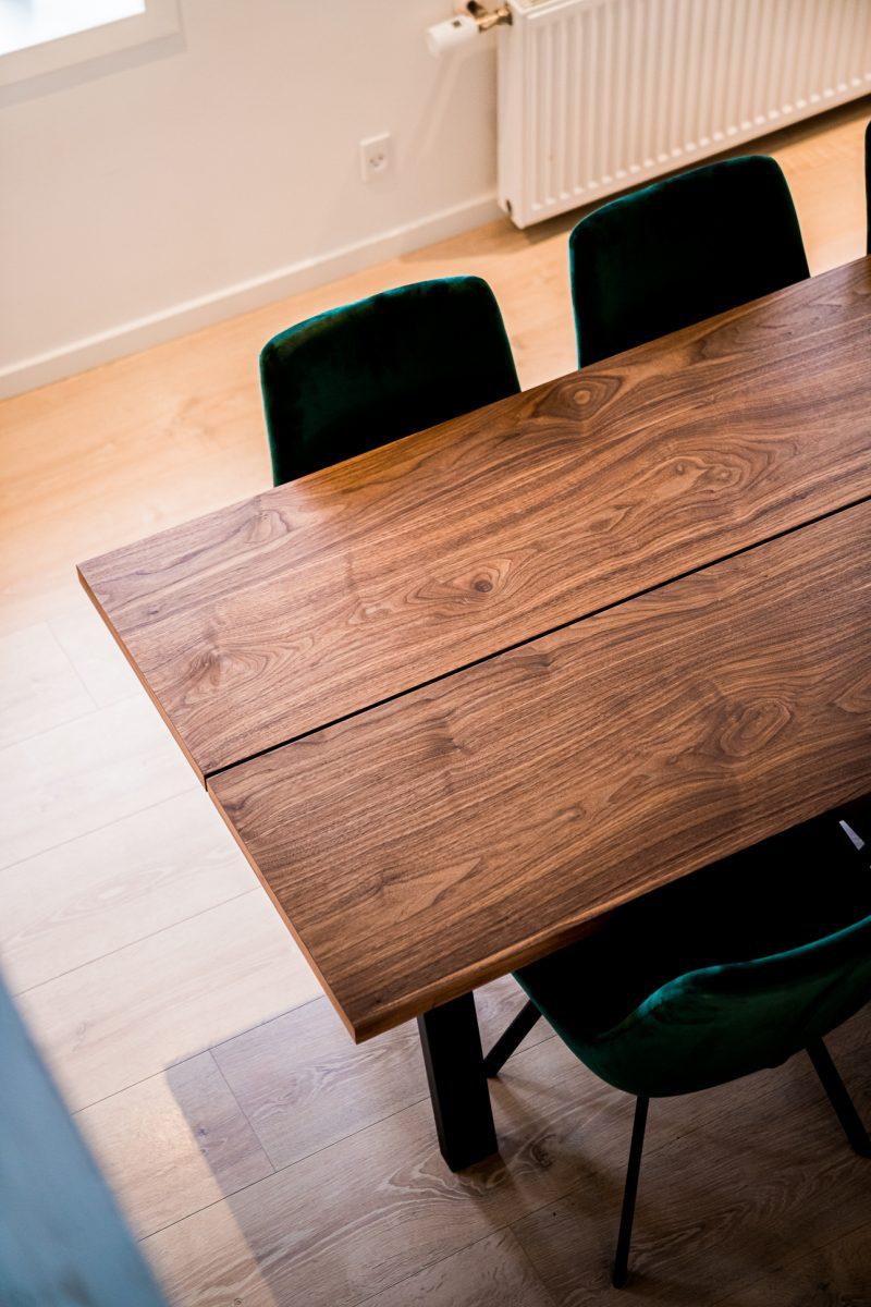 Freja plankebord i valnød