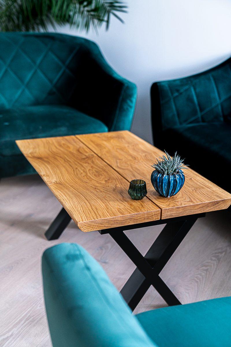Ravna planke sofabord